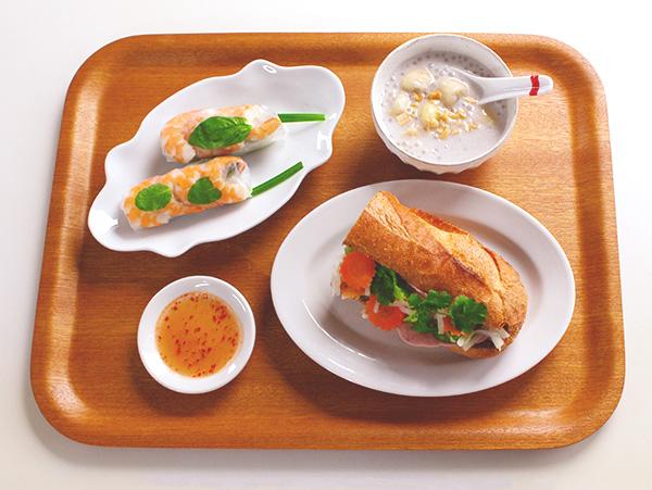 人気のベトナム料理3品