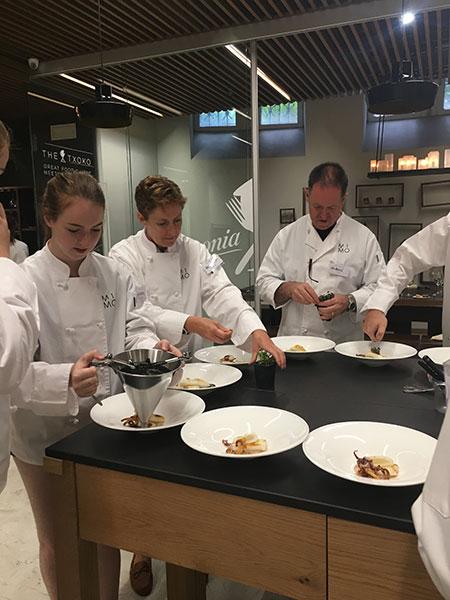 スペイン サンセバスチャンの料理教室