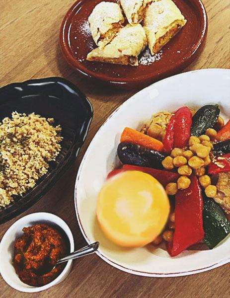 チュニジア料理