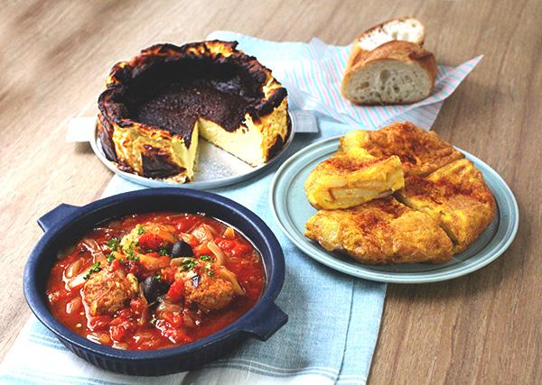 スペインバスク地方の人気料理