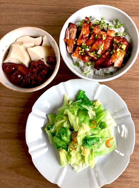 台湾風グリルチキンご飯