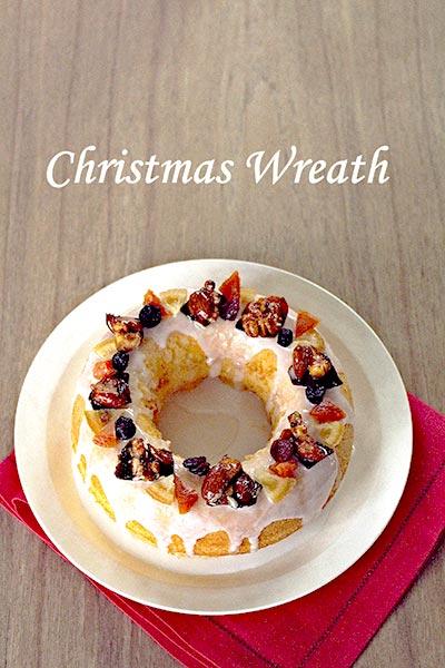 クリスマス リースケーキ