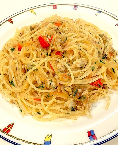 ボンゴレスパゲティ