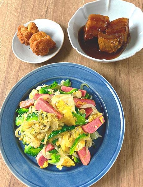 2020年7月レッスン 沖縄料理