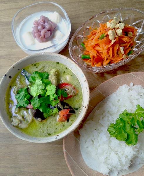 2020年8月料理教室タイ料理