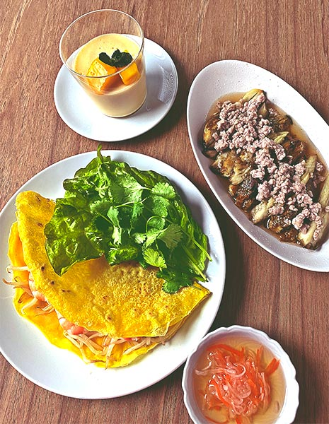 2020年9月料理教室 野菜たっぷりベトナム料理
