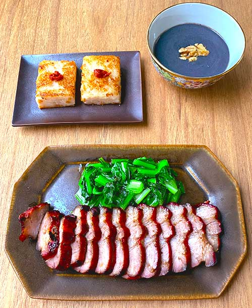 2020年11月 料理教室 焼豚